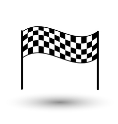 Start flag checkered flag finish flag vector