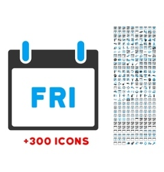 Friday flat icon vector