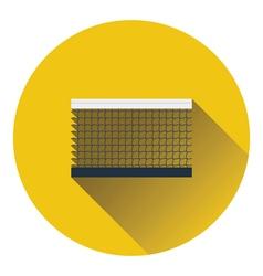 Tennis net icon vector