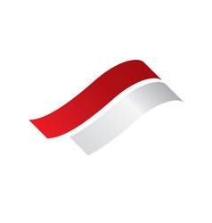Indonesia flag vector