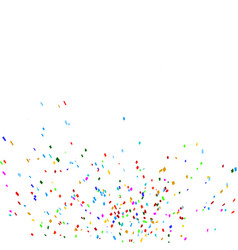 A scattering of crumbs confetti paper vector