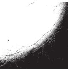 Distress Overlay Corner vector image vector image