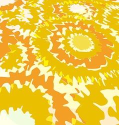 Flowers sunflowers vector