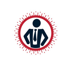 Successful business creative logo conceptual vector
