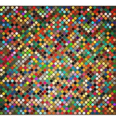 Background with colored circles vector