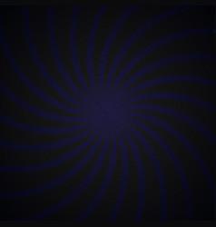 Blue and black spiral vintage vector