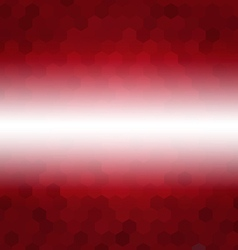Red abstract hexagon background low poly style vector
