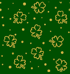seamless st patricks day vector image