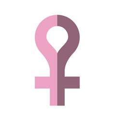 venus gender symbol icon image vector image