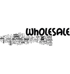 Wholesale is it worth the cost text word cloud vector