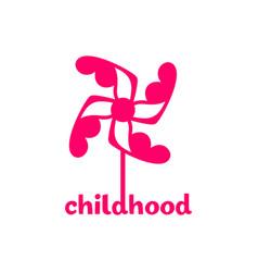 Childhood logo vector