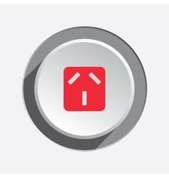 Electric plug socket base icon Australian vector image