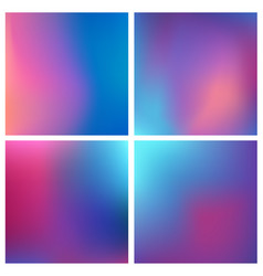 Abstract purple blurred background set 4 vector