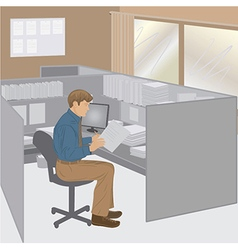 Office-worker vector
