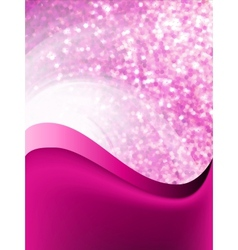 Abstract purple flow background vector image