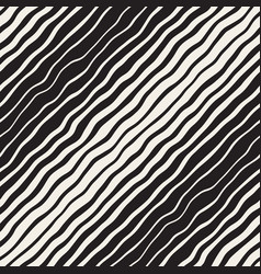 wavy ripple hand drawn gradient lines vector image