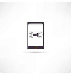 Mobile Phones icon vector image