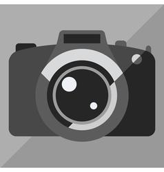 Photo camera icon vector