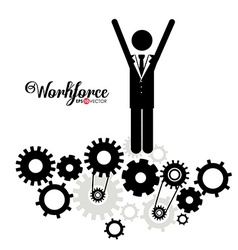 Business and workforce design vector