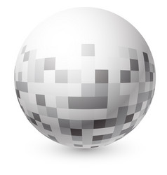 abstract 3d ball vector image