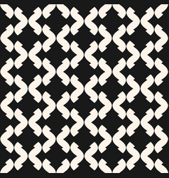 art deco seamless monochrome stylish pattern vector image vector image