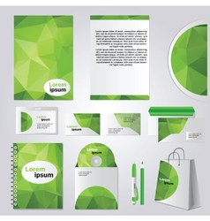 Corporate identity design vector image vector image