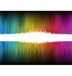 Equalizer Abstract Sound Waves EPS 8 vector image vector image