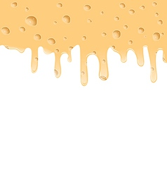 Melted cheese texture with holes space for your vector