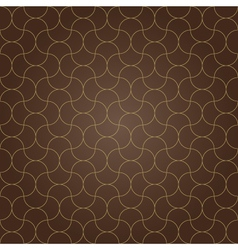 Pattern background brown grid vector