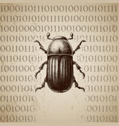 Software bug breaking binary code vector