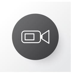 Video camera icon symbol premium quality isolated vector