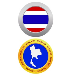 button as a symbol THAILAND vector image vector image