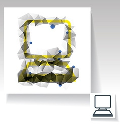 Computer symbol vector