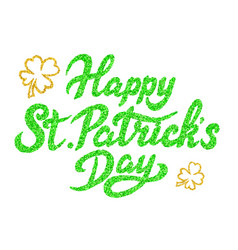 Happy st patricks day vector
