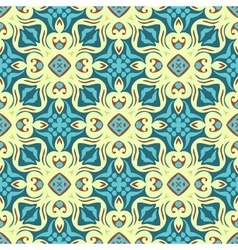 Seamless pattern tiled gift wrap vector image vector image