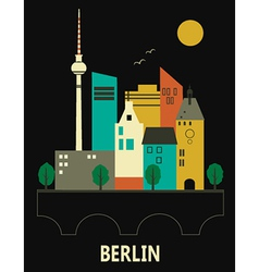 Berlin germany vector