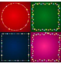 Flash illumination vector image