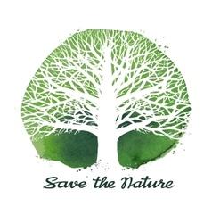 Tree logo ecology nature symbol vector