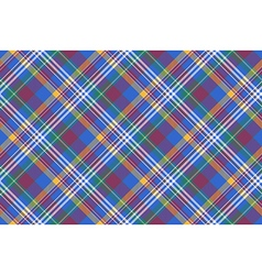 Blue pink diagonal plaid madras seamless vector