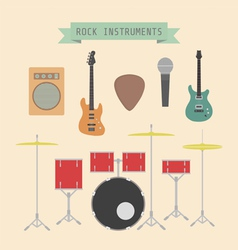 rockmusic vector image vector image