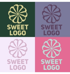 Sweet logo vector
