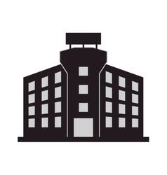 single building icon vector image