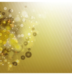Gold blurred background vector
