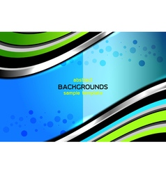 Abstract dimension light backgrounds vector