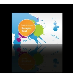 business cards background design vector image vector image