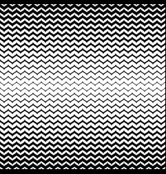 Halftone seamless pattern black white zig zag vector