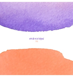 Red and purple watercolor squarer background vector