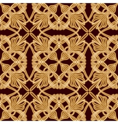 Seamless old eastern pattern vector