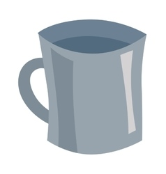 Travel cup vector