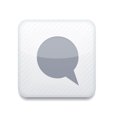 Speech chat icon vector